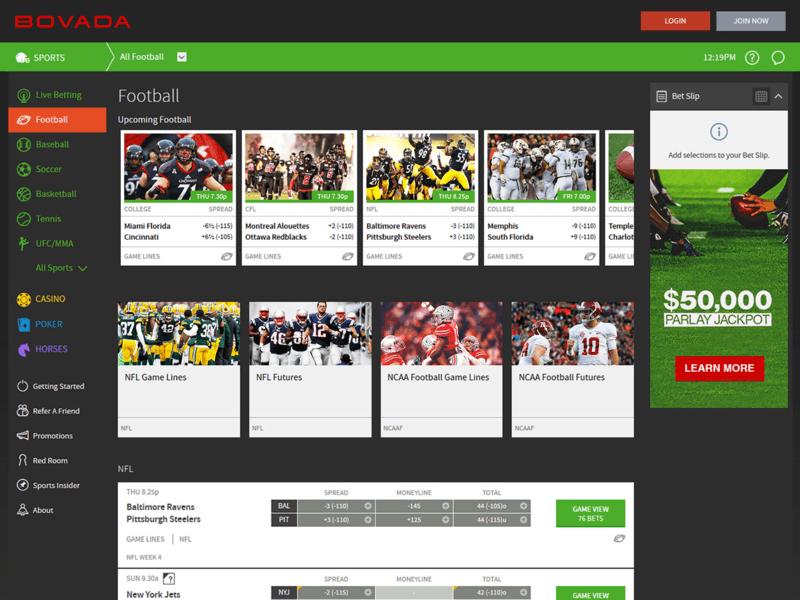 Bovada sports betting. vanilla server download 1-3 2-4 betting system